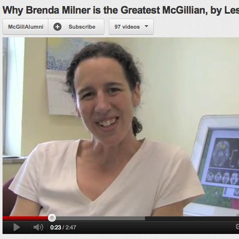 Brenda Milner video 3