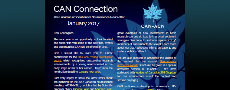 CAN Connection January 2017