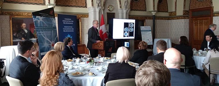 Canadian Neuroscience Research luncheon in Parliament