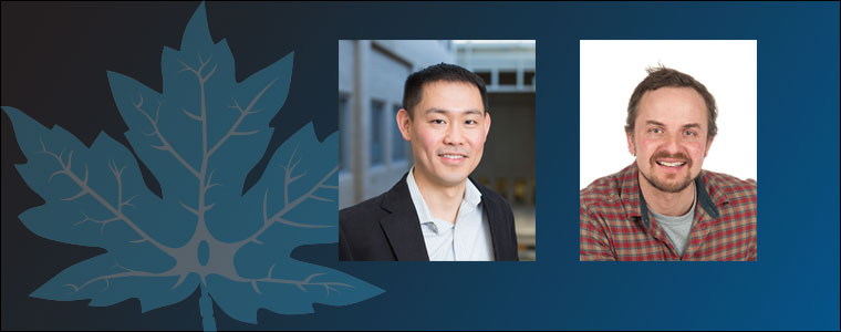 Tuan Trang and Mike Sapieha - CAN Young Investigator winners for 2017