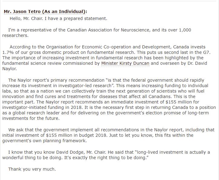 FINA Tetro statement