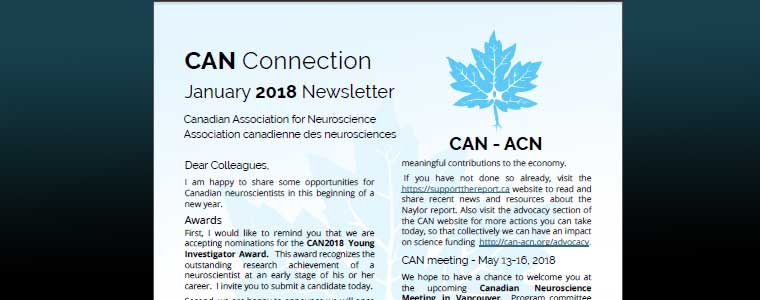 CAN Connection January 2018