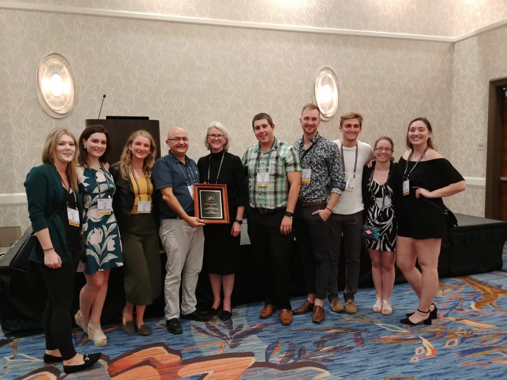 Ottawa wins SfN Chapter of the year award