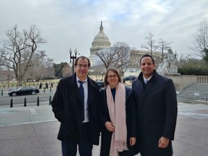 Doug Munoz, Julie Poupart and Karun Singh at Hill Day 2019