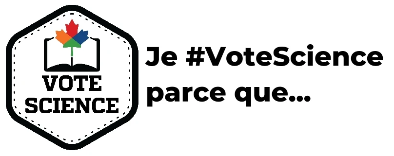 Je #votescience