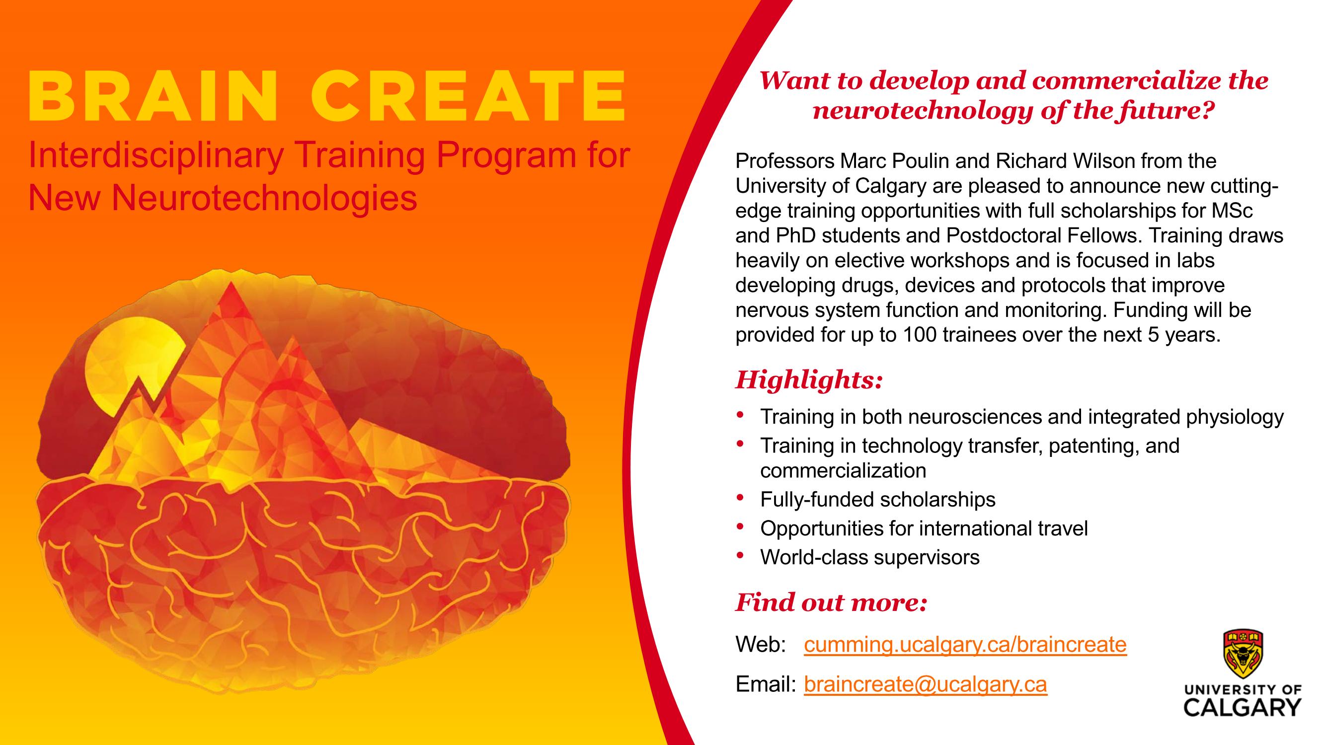 BRAIN CREATE program