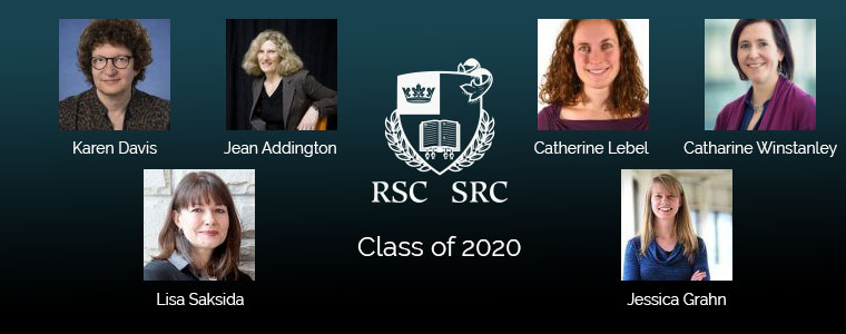 Royal Society of Canada class of 2020